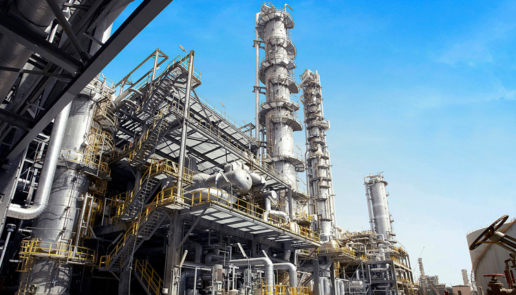 Petrochemical factory