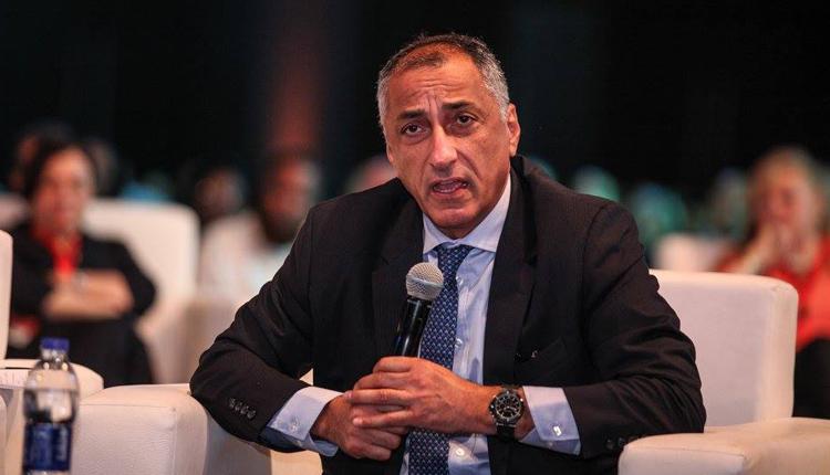 Egypt's central bank governor Tarek Amer