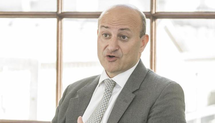UK Export Finance's chief executive Louis Taylor