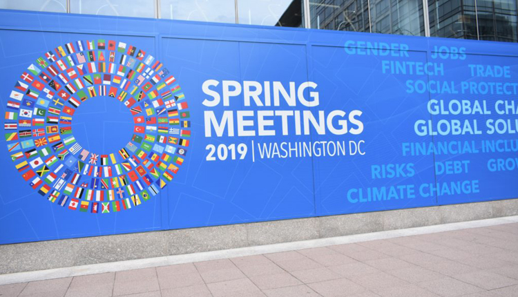 The Annual Spring Meeting of IMF and World Bank