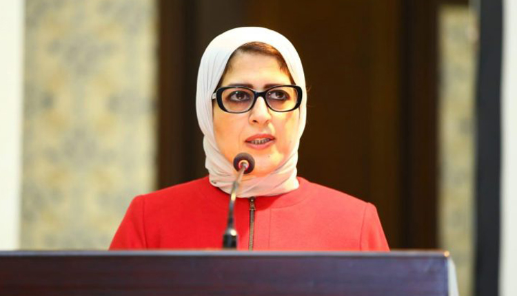 Egypt's Minister of Health Hala Zayed