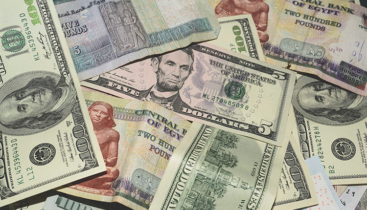 Egypt's currency Egyptian pound
