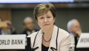 IMF's Kristalina Georgieva