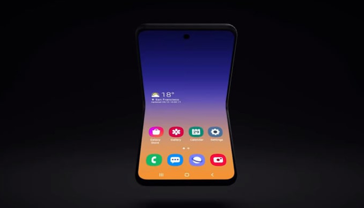 Samsung's new foldable phone 1