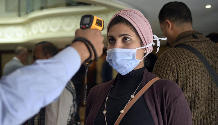 coronavirus cases in Egypt