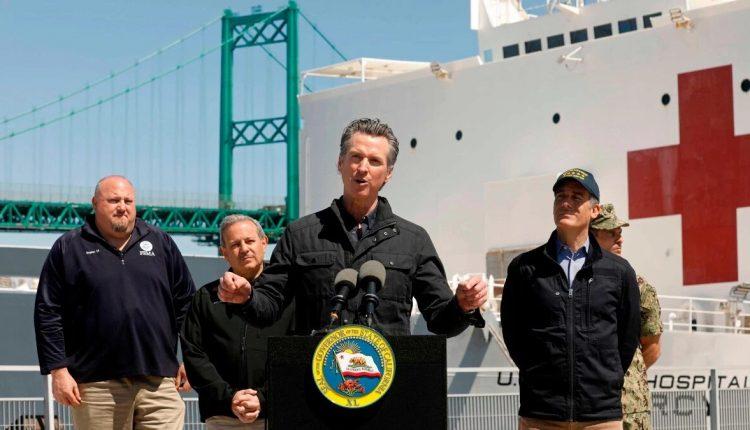 California's Governor Gavin Newsom