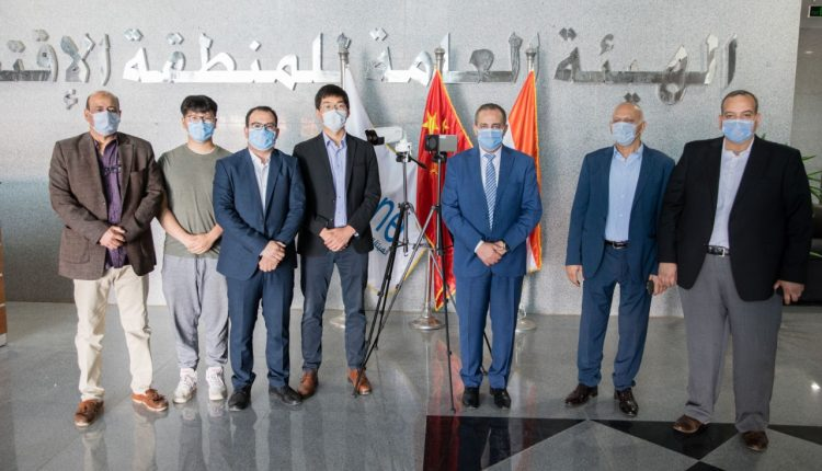 China's embassy in Cairo provides SCZone with thermal imaging camera