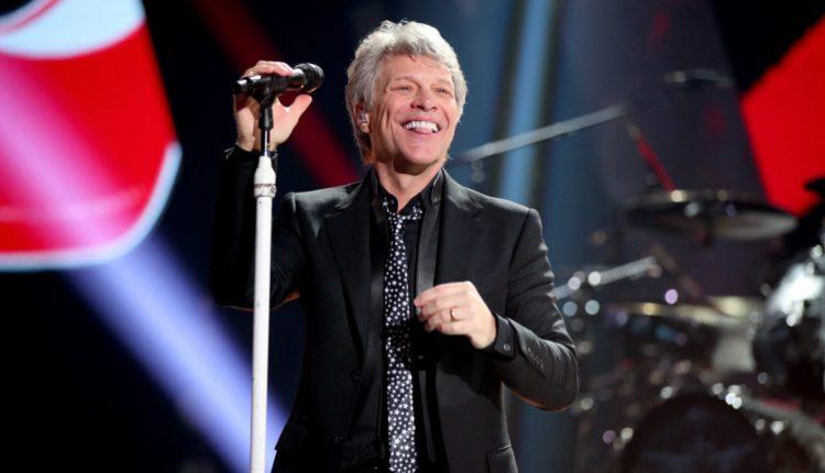 U.S. rocker Jon Bon Jovi