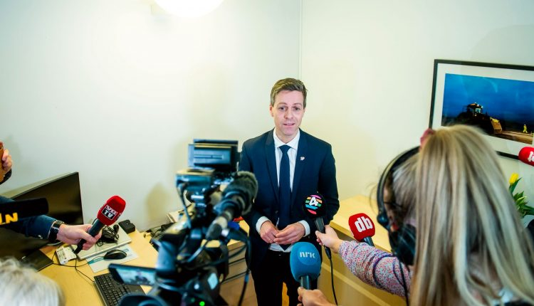 Norway's Minister for Transport Knut Arild Hareide