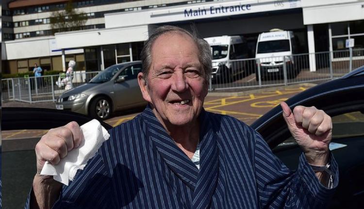 Scots grandad with one lung beats coronavirus after four week hospital battle