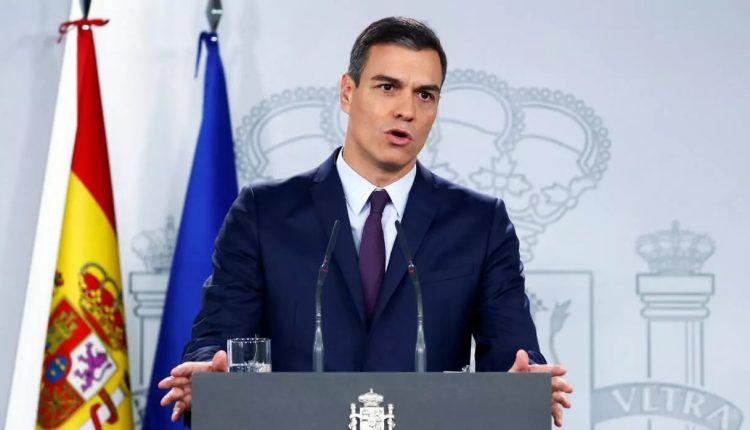 Spain PM Pedro Sanchez