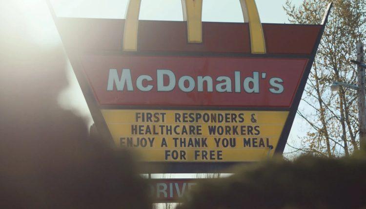 McDonald's free meals