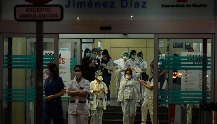 spain hospital workers coronavirus