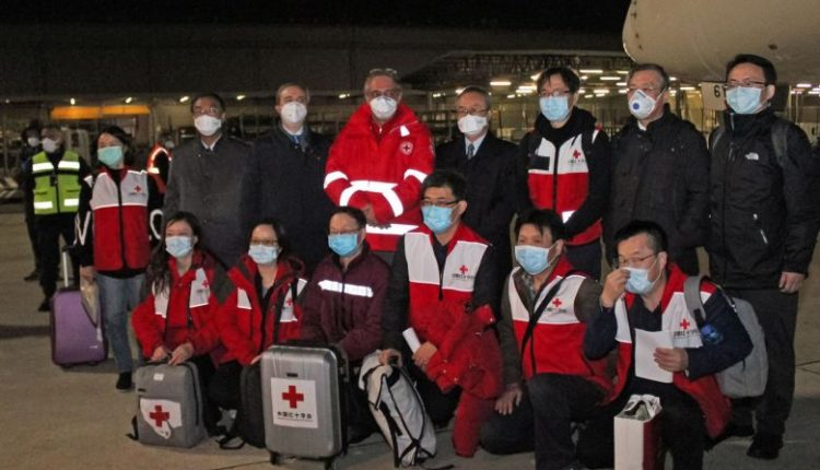 China medical experts