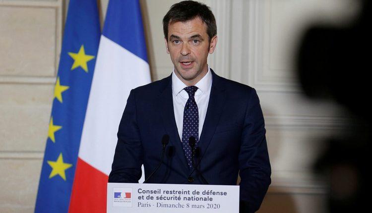 France Health Minister Olivier Véran