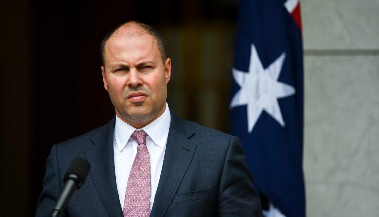 Australia's Treasurer Josh Frydenberg