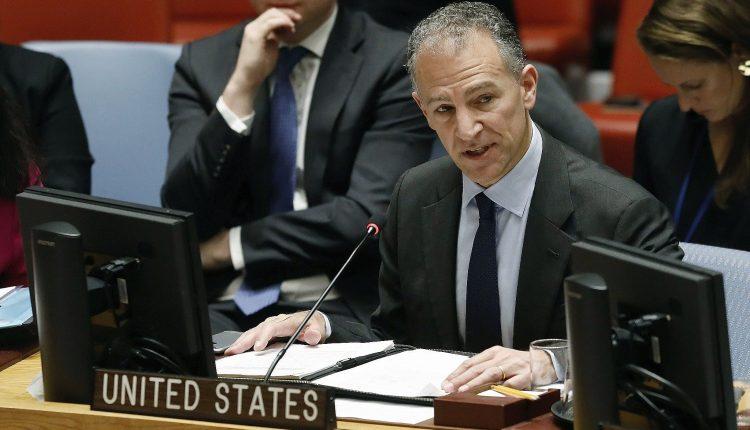 U.S. Ambassador to Cairo Jonathan Cohen