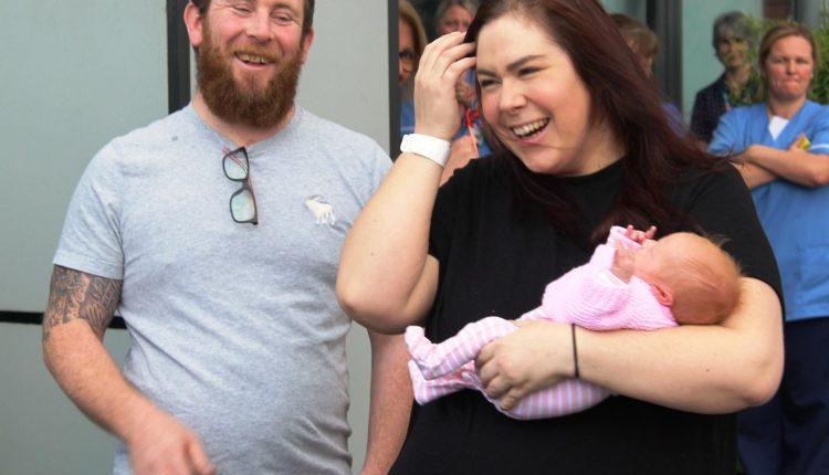 Newborn baby born with coronavirus