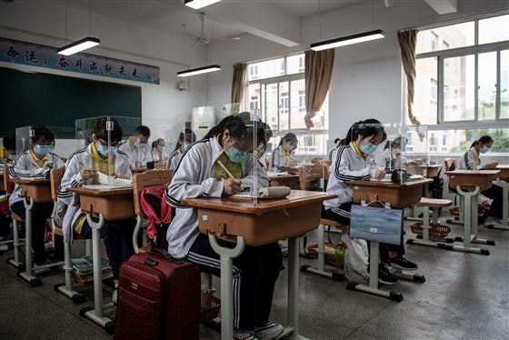 Wuhan students