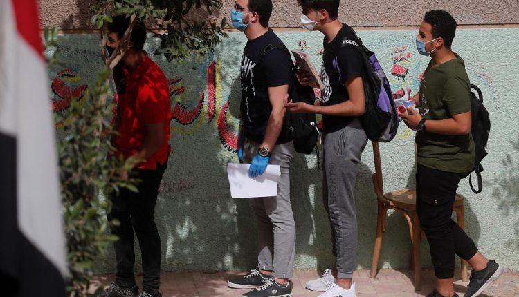 Egyptian students exams