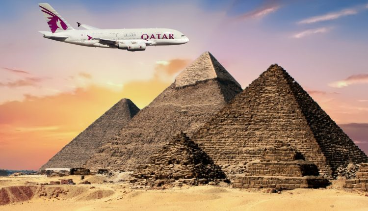 Egypt Qatar airspace and flights