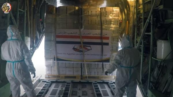 Egypt medical aid to Jordan