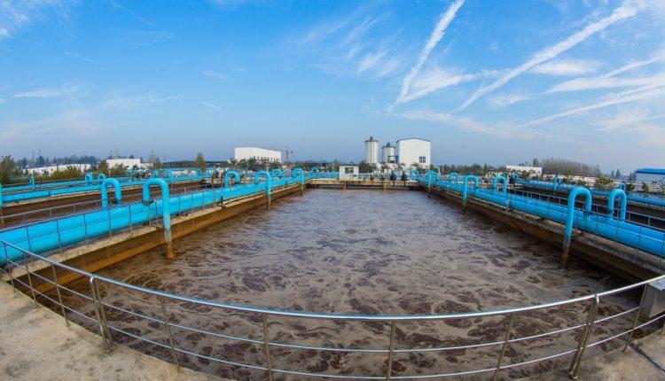 Bahr El-Baqar wastewater treatment plant