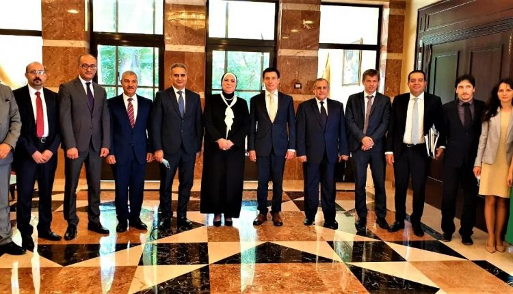The Egyptian minister made her remarks after meeting with Andrei Slepnev, Minister in charge of Trade of the Eurasian Economic Commission, with participants in the fourth round of free trade talks in Moscow on Thursday, June 24, 2021