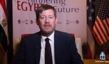 Steve Lutes, Executive Director of the U.S.-Egypt Business Council,